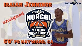 Isaiah Jennings Highlights from '18 NorCal Unsigned Senior Showcase