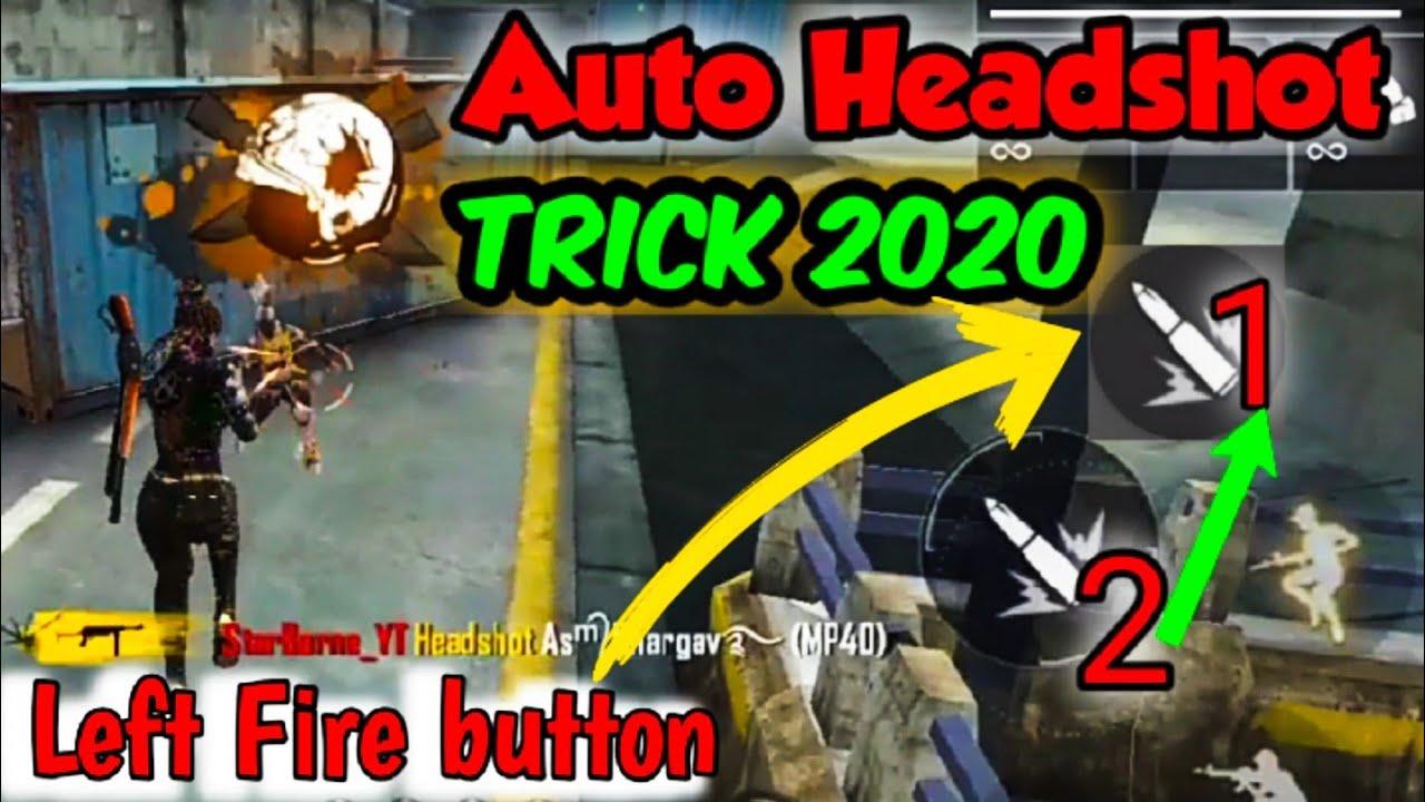 Auto Headshot Secret Trick 2020 Garena Free Fire Youtube