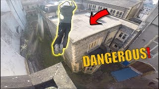 HE F**KED UP.. Rooftop vs Parkour!