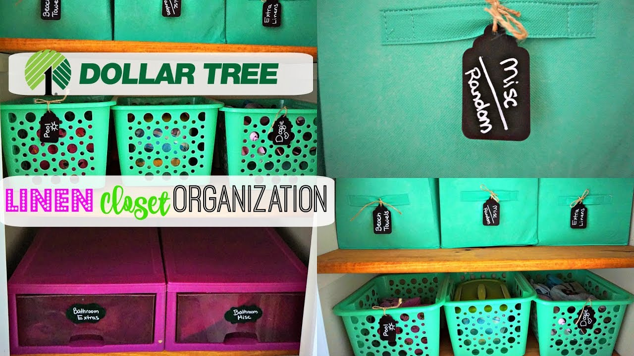 Organizing My Linen Closet| Dollar Tree Organization|Linen Closet  Purge\Keep Calm And Clean