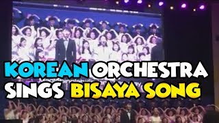 "KOREAN Orchestra Sings BISAYA Song ""Balay ni Mayang"" at Wold Youth Camp2018"