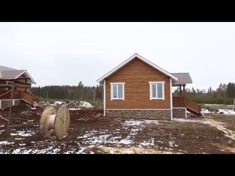 Каркасный дом 52м2 за 980тр под ключ
