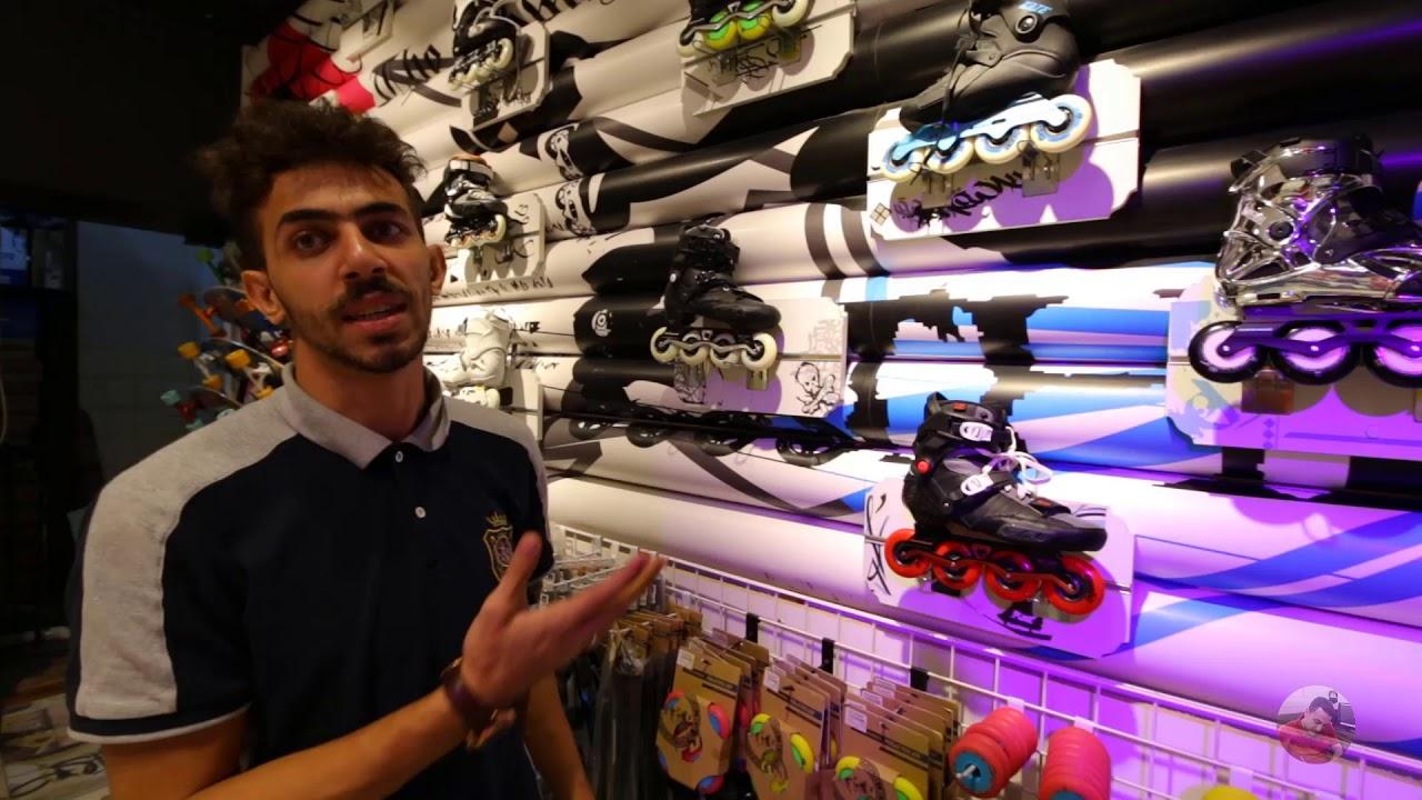 اخيرااا محل سكيت بورد فى جده Skateboard Shop In Jeddah Youtube