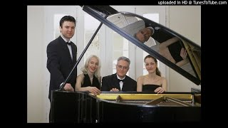 Shchedrin' s ''Hommage a Chopin'' for 4 pianos, Live by Apostolos Palios and Aurora Quartet