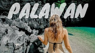 PALAWAN VLOG 1: UNBELIEVABLE BEACHES IN EL NIDO | PHILIPPINES BLOG thumbnail