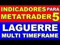 Forex y Opciones Binarias -  Indicador LAGUERRE para METATRADER 5 (Multi TimeFrame)