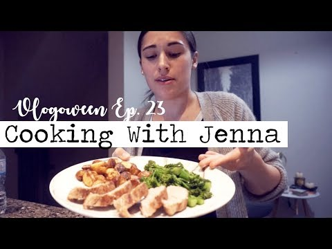 COOKING WITH JENNA! || Vlogoween Ep. 23