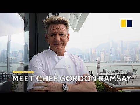 Meet the 16-Michelin man - chef Gordon Ramsay