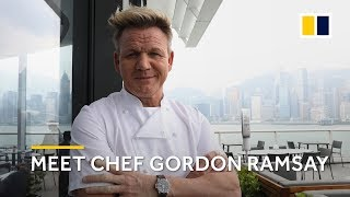 Meet the 16-Michelin man - chef Gordon Ramsay