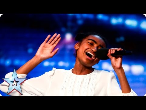 Ant and Dec believe in Jasmine Elcock! | Auditions Week 4 | Britain's Got Talent 2016