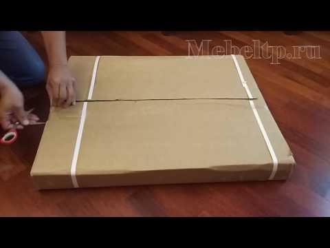 Как собрать стол книжку
