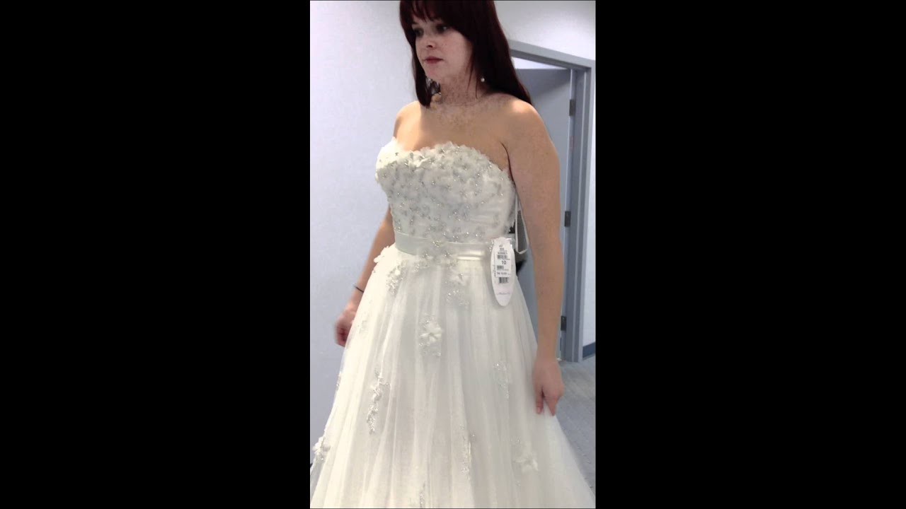 Alfred Angelo 207 Snow White - YouTube