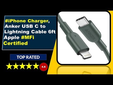 apple-iphone-charger-*anker-usb-c-to-lightning-cable-6ft*
