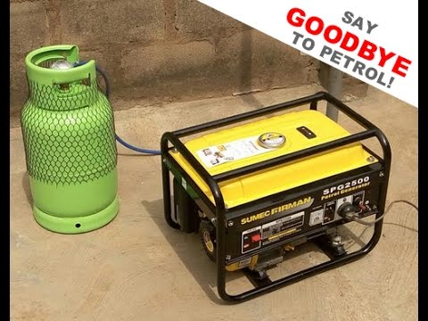 Run Your Gen On Gas - Say Goodbye To Petrol
