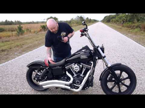 2014 Custom Harley Dyna Street Bob Walk Around