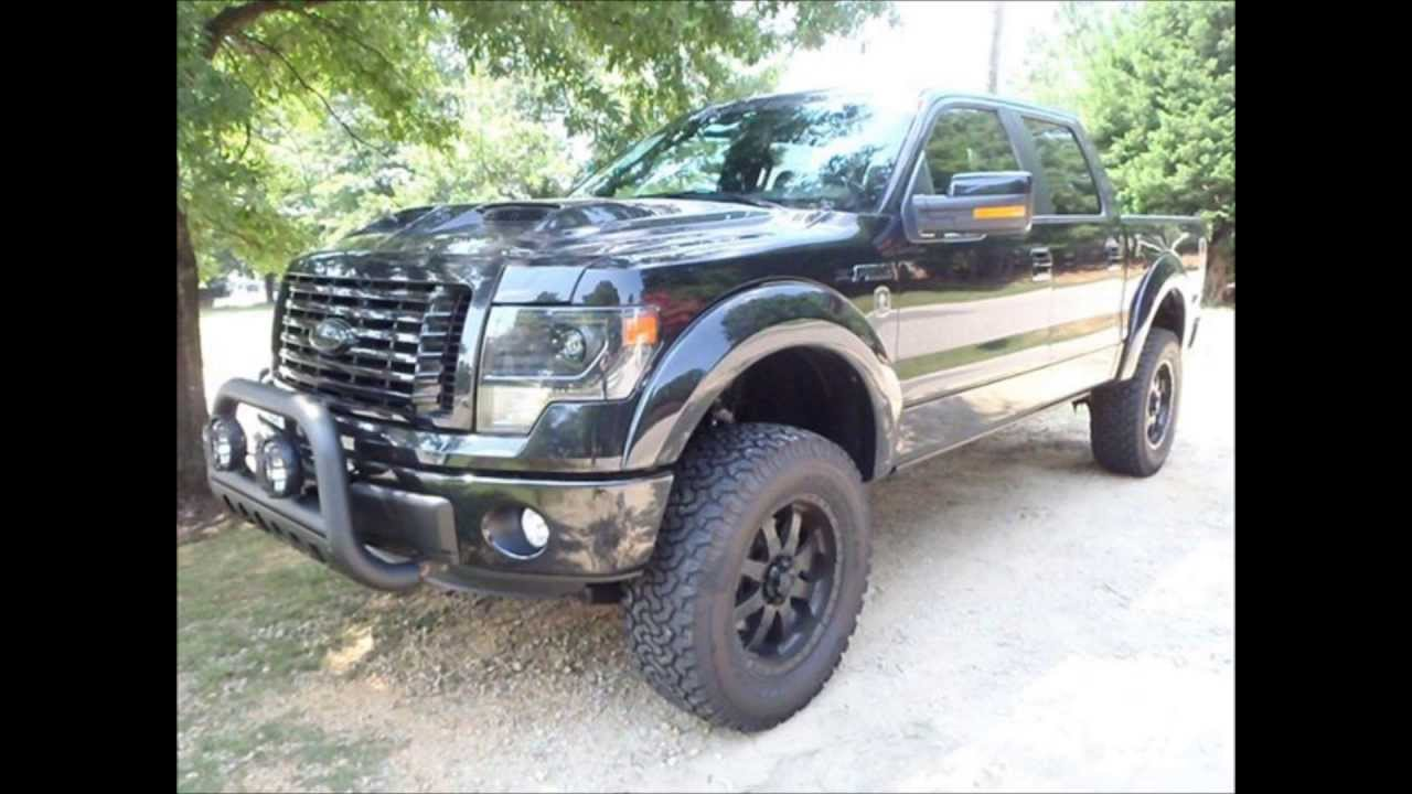 2013 F150 Accessories >> 2013 Ford F-150 Lariat Tuscany Black Ops Lifted Truck For ...