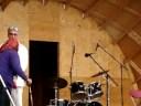 NWT premier Floyd Roland does the grouse dance