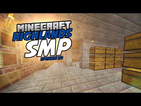 Highlands SMP | Episode 20 | Finishing the Trading Post