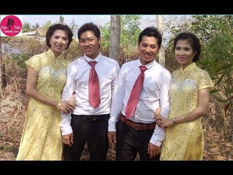 Đám cưới hy hữu 2 anh em sinh đôi lấy 2 chị em sinh đôi ở Cà Mau