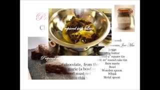 Prepared With Love Chocolate Brownie Jar Mix Tutorial