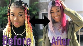 failzoom.com - TI GOT HER FIRST LACE FRONTAL *Extremely Funny