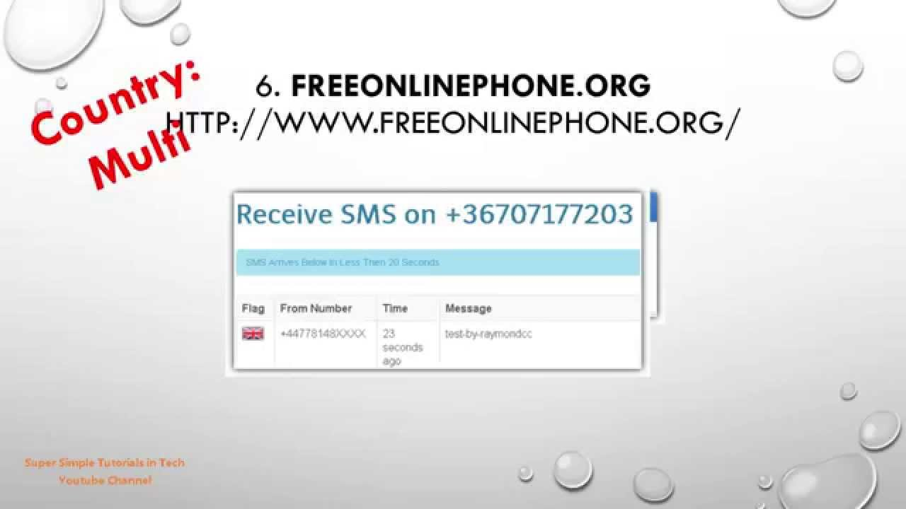 Top 10 Sites to Receive SMS online free Without a Phone