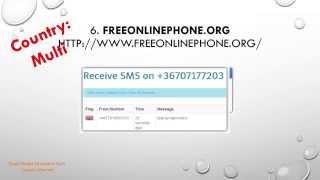 Top 10 Sites to Receive SMS online free Without a Phone(Super Simple How to Tutorial Videos in Technology. The only channel that is backed up by computer specialist experts who will answer your questions., 2015-09-02T23:57:57.000Z)