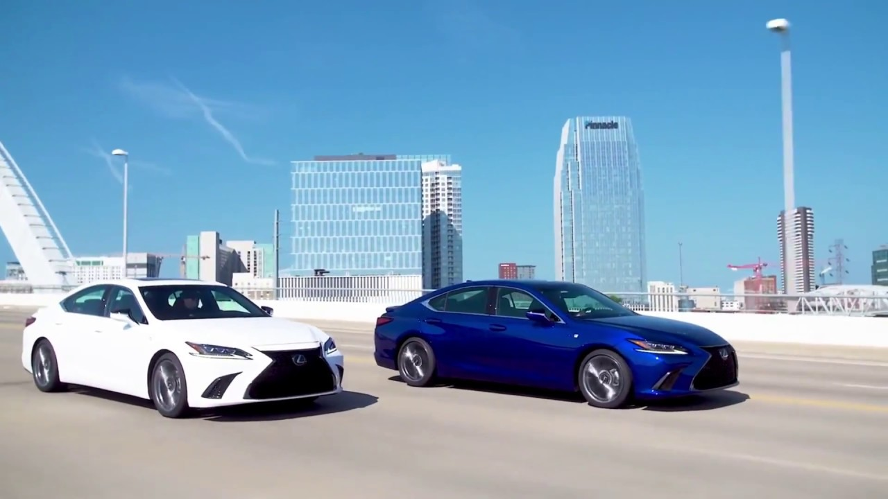 Autonew Update The 2019 Lexus Es In New Colors Youtube