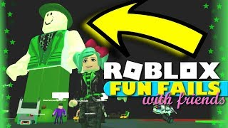 Fun Fails with Friends in Roblox! SallyGreenGamer G-Rated Family Gaming LiamTheLeprechaun Beeism