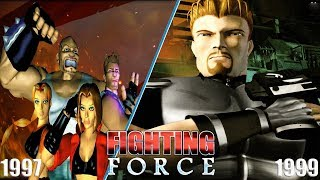 Evolution of Fighting Force Games 1997-1999