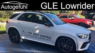 all-new Mercedes GLE going Lowrider :D with E-Active Body Control - Autogefühl