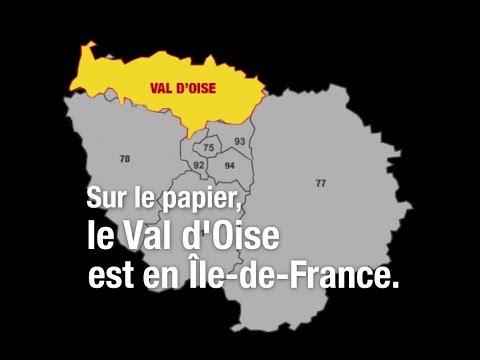 En 2018, le Val-d'Oise est-il toujours en Île-de-France ?