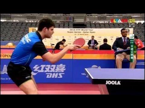 2016 Qatar Open MS QF OVTCHAROV Dimitrij ZHANG Jike HD Full Match Chinese