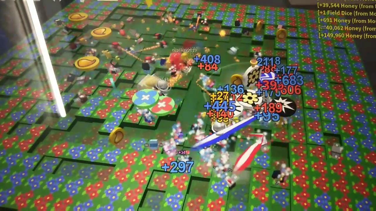 Tự nhiên Mei thấy một hiện tượng lạ trong game Bee Swarm 😳