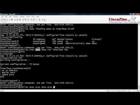 How to create shortcut command | CiscoZine