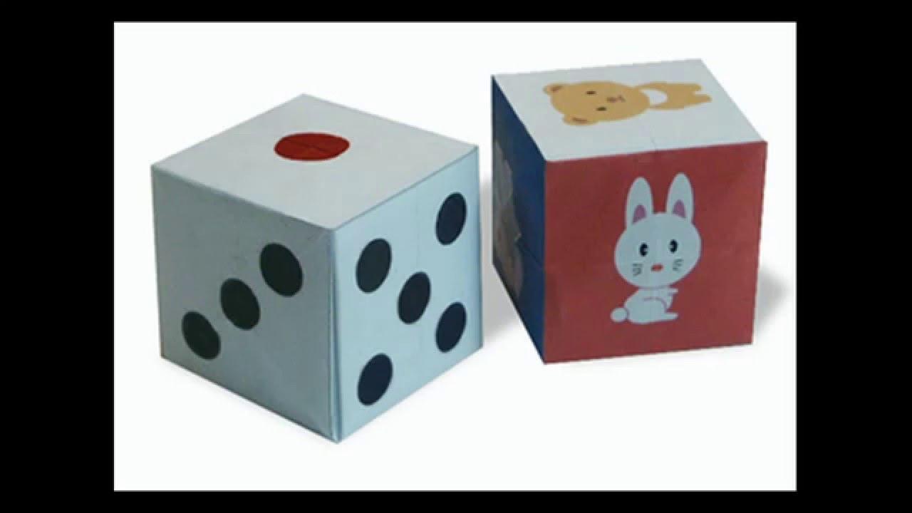 Origami Dice Youtube