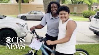 Milwaukee bus driver surprises 10-year-old boy with new bike