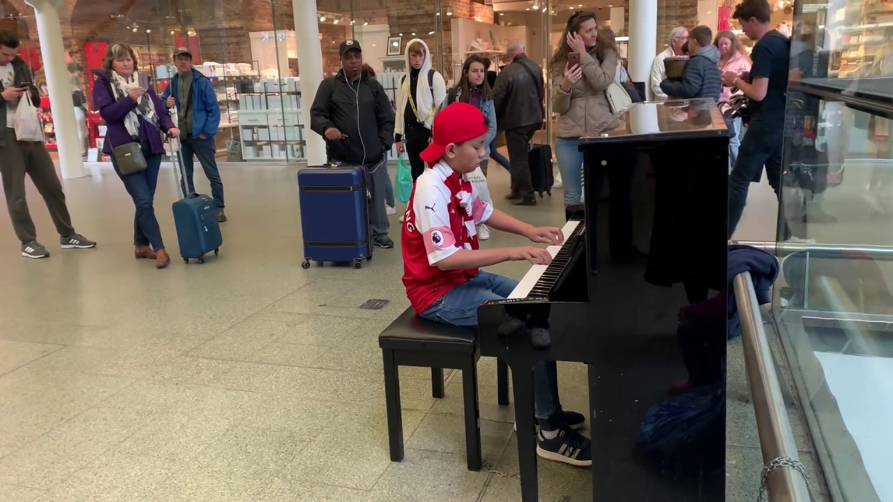 Queen Bohemian Rhapsody Causes Man to Miss Train Cole Lam 12 Years Old