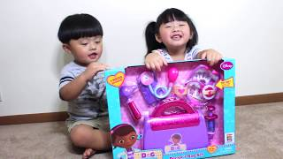 Kids Playtime with Doc McStuffins' Toy Doctor Bag
