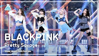 [예능연구소 4K] 블랙핑크 직캠 'Pretty Savage' (BLACKPINK FanCam) @Show!MusicCore 201010