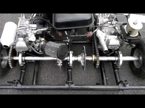 Prokart Honda gx200 twin engine