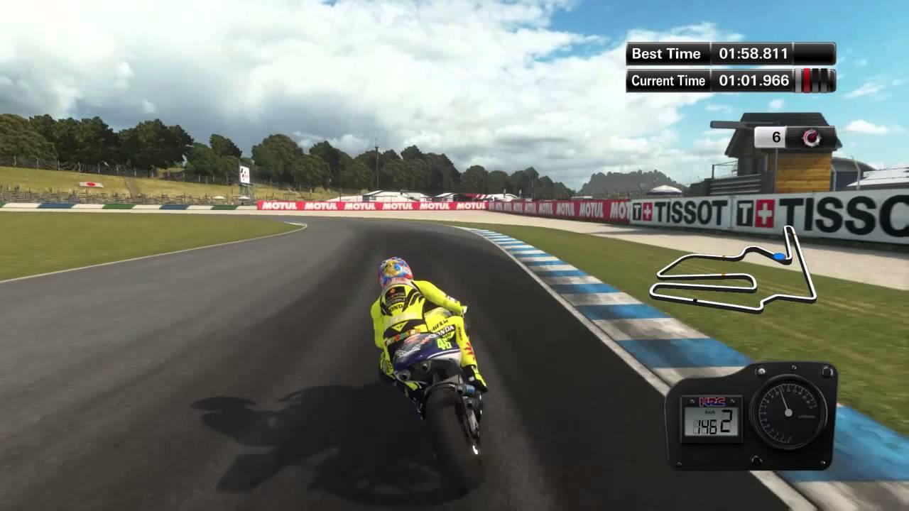 MotoGP 14 PS4 Motegi Single Lap Valentino Rossi (Honda NSR500 ´01) - YouTube