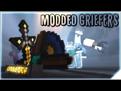 "Minecraft Song ♪ ""Modded Griefers"" Animation Music Video (Re-upload)"
