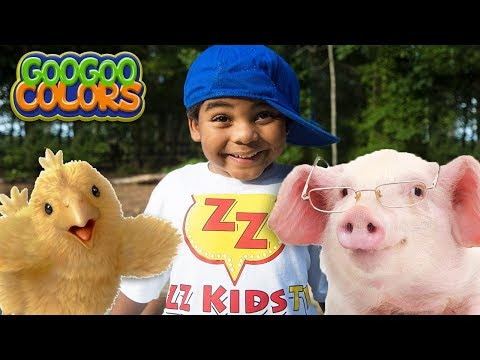 Old McDonald Had A Farm! Goo Goo Colors Songs + More