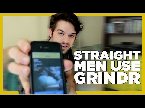 Straight Men Use Grindr For The First Time - Gay Dating App