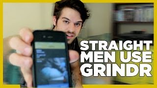 Straight Men React To Grindr - Gay Dating App
