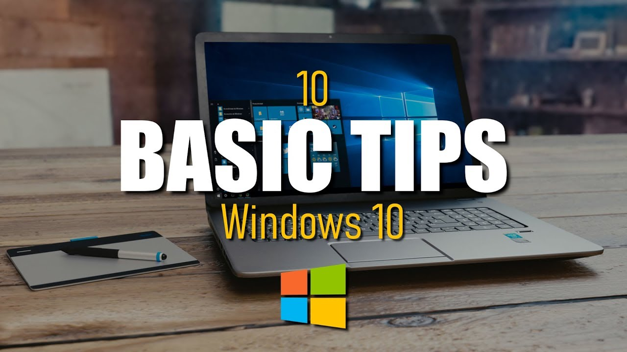 10 Basic Tips for Beginners of Windows 10 - YouTube