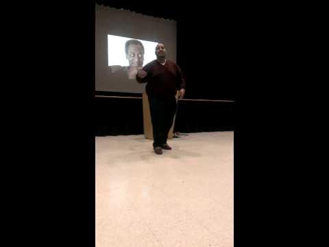 New Brunswick Middle School program - spoken word