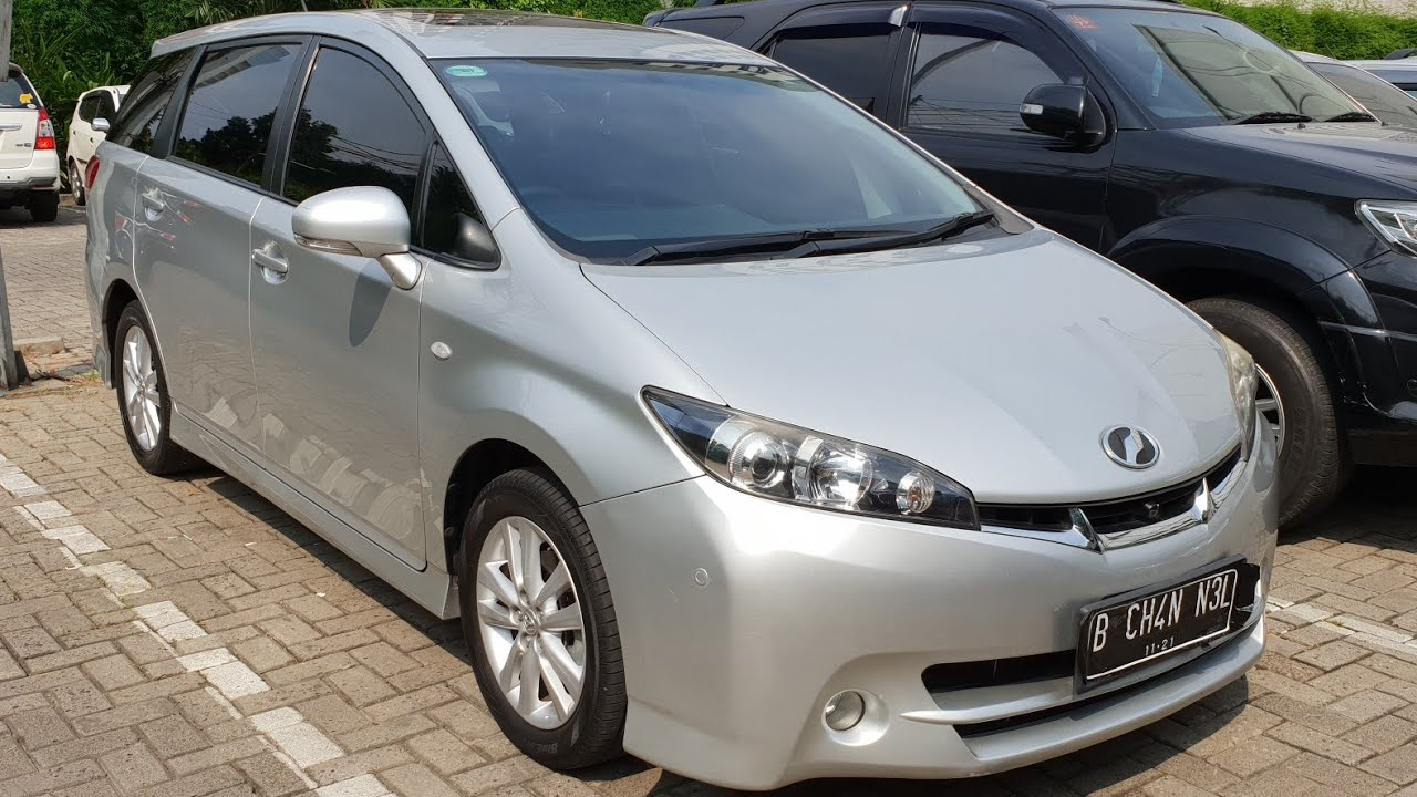 In Depth Tour Toyota Wish Ae20 2009 Indonesia Youtube
