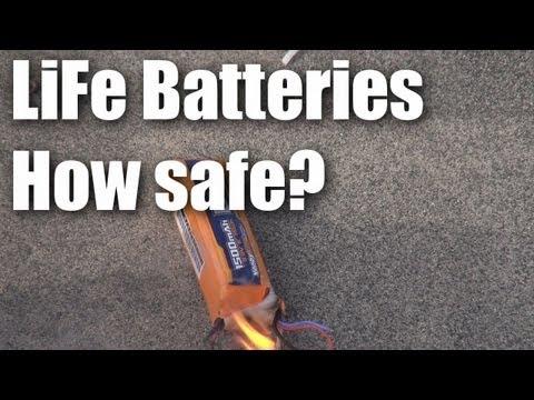 LiFe safer than LiPo?